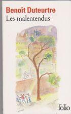 Benoit Duteurtre - Les malentendus - 2009 Folio - Sempé en couverture ; 16/4