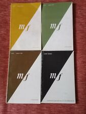 m/f journal of feminism & gender theory. 4 issues (1978-1986)