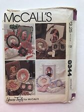 McCall's Craft 8344 Set of Picture Frames Baby Country Christmas Victorian Uncut