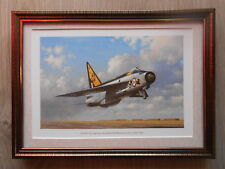 Keith Woodcock Aircraft print 'The RAF's First Supersonic Aircraft' FRAMED