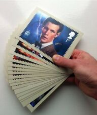 17 Doctor Who Stamp Postcards 2013 - BNIP