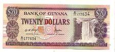Guyana  20 dollars  1996     FDS  UNC    pick 30 b      lotto 3724