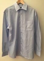 """Mens George Shirt Blue Collar 15.5"""" <NZ325"""