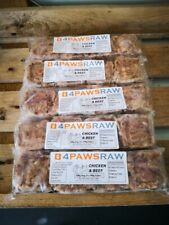 More details for premium mixed raw dog food chicken variety box 20 x 560g - 11.2kg from 4pawsraw