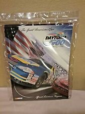 Daytona 500 Feb. 2002 Official Souvenir Program in Plastic Cover, Mint
