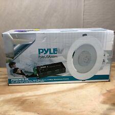"Pyle PDICBTL35 Bluetooth 2-Way Aluminum Frame 3.5"" Ceiling/Wall Speakers (Pair)"
