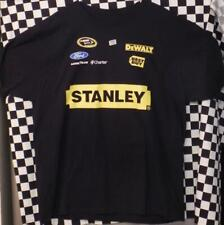 Marcos Ambrose Stanley / No.9 Uniform NASCAR Black T-Shirt