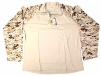 BLACKHAWK! BHI Warrior Wear Tactical Large Combat Shirt Desert Digital AOR1 LBT
