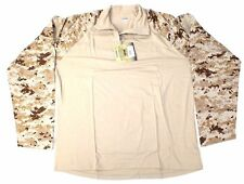 BLACKHAWK! BHI Warrior Wear Tactical XLarge Combat Shirt Desert Digital AOR1 LBT