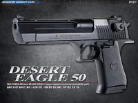 Academy Desert Eagle 50 17217 Airsoft Pistol BB Shot Gun 6mm Hand Grips Toy