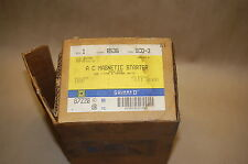 Square D 87220 Magnetic Starter Class 8536 Type SCO-3 Series A Open Type