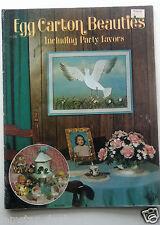 Egg Carton Beauties Craft Book