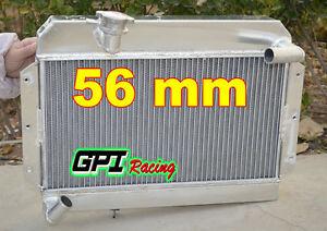 FOR Rover MG MGA 1500 / 1600 /1622 DE LUXE 1955-1962 1960 1961 Aluminum Radiator