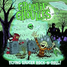 "Groovie Ghoulies Flying Saucer Rock N Roll COLOR Vinyl LP Record & MP3! 7"" comp+"