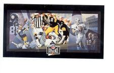 1992 EXP JACK LAMBERT LYNN SWANN Pittsburgh Steelers Cowboys Super Bowl X Card