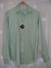 Eagle Men's Shirt Button Down L/S Green Sz 15 1/2, 32/33 $59.50 NWT