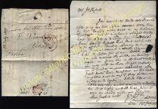 1800 Gratis Carta Firmada Onslow de Thomas Adams en Londres para Alnwick