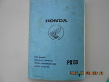 honda px50 . px 50 . shop manual . manuel d'atelier . werkstatt-hanbuch