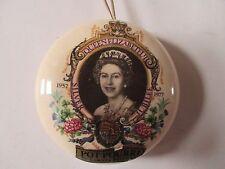 Queen Elizabeth ll Silver Jubilee Potpourri Holder by Lownds Pateman.