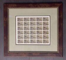 AR1    Arkansas (FOS) State Duck Full Stamp Sheet 1981 - Framed