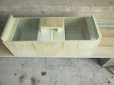 cage de transport oiseaux ideale 2 compartiment pour 2 grande perruche