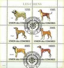 Timbres Chiens Comores 1453/8 o année 2009 lot 19282 - cote : 16 €