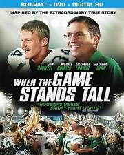 When the Game Stands Tall (Blu-ray/DVD, 2014, 2-Disc Set, Includes Digital) NEW!
