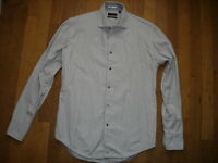 ZARA MAN chemise chic costard taille L / 40  TBE 100% Coton