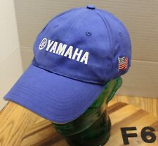 YAMAHA GENERATORS & PUMPS HAT BLUE EMBROIDERED STRAPBACK ADJUSTABLE VGC F6