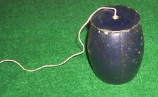 Antique / Vintage Black Barrel Motif String Holder England