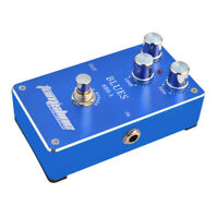 Electric Guitar Effect Pedal Aroma ABS-1 Blues Distortion True Bypass Parts S4L7