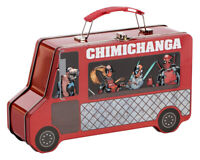 Marvel Deadpool Chimichanga Truck Shaped Tin Tote Lunch Box