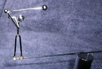 MCM Executive Desk Kinetic Golfer Sculpture Perpetual Motion Balancing Vtg 70s