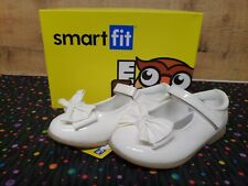 Smartfit 165994 Elena II White Kids Girls Slip On Shoes Size 8.5 NWB