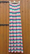 Boohoo Rainbow Woman Girl Summer Maxi Strapless Bandeau Dress Beach Cover 14 Y 8