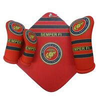 USMC Marine Corps golf club head covers &  towels (ALL SOLD SEPARATELY) USA MADE