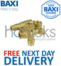 Baxi DuoTEC 28, 33 HE 12L Hydraulic Inlet Assembly 5114710 Genuine Part *NEW*