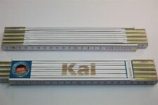 Zollstock mit Namen  KAI   Lasergravur 2 Meter Handwerkerqualität