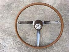 1966 1967 MOPAR 3 SPOKE WOODGRAIN STEERING WHEEL Dodge Charger R/T Dart Coronet