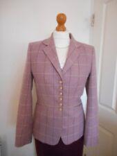 Cordings Jack Wills Purple Check Wool Cashmere Blazer Jacket UK10 RRP £275.00