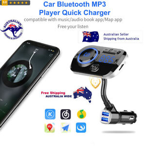 Bluetooth 5.0 Multi-function Car Colorful Lamp Bluetooth MP3 Player Quick Charge