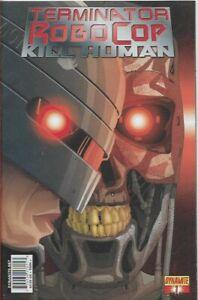 TERMINATOR ROBOCOP - KILL HUMAN #1 C - Back Issue (S)