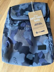 NWT PacSafe Citysafe Anti-Theft 350 S Backpack Blue Orchid