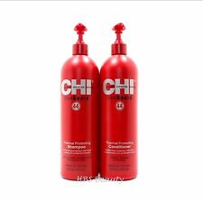 CHI IRON GUARD 44 THERMAL PROTECTING SHAMPOO & CONDITIONER 25 oz Duo