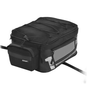 Oxford OL447 Small 18L F1 Motorcycle Motorbike Rear Luggage Black Tail Pack   Ne