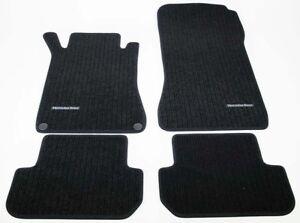 B66360284 Mercedes-Benz Fußmatten Rips schwarz CLK W209 209 Coupe