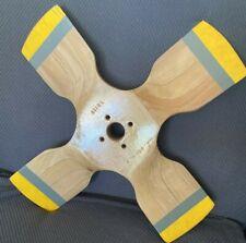 """Arrowprop Wooden 4 Blade Propeller with 20"""" Span"""