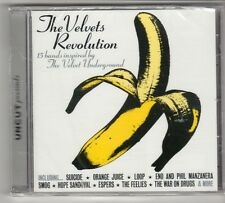 (GQ312) The Velvets Revolution, 15 tracks various artist- 2009 - Sealed Uncut CD