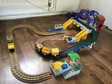 Geotrax Grand Central Station Train Airport Carriage Figure Toy Playset Bundle