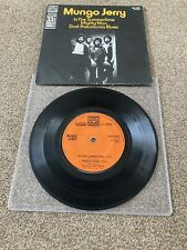 "MUNGO JERRY In The Summertime/Mighty Man/Dust Pneumonia Blues 3 Trk 7"" EP In P/S"